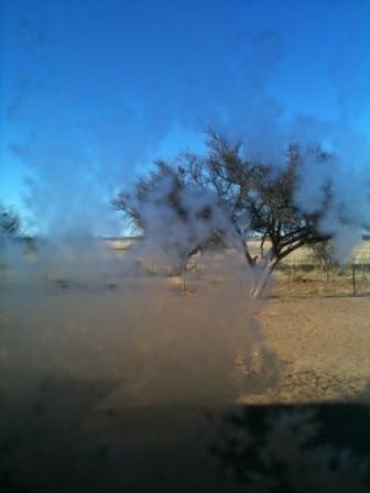 Frost på vinduet???