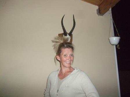 Rolig og rolig...? Har vert så lenge i Afrika at jeg begynner å få horn... Eller kan det være andre grunner??