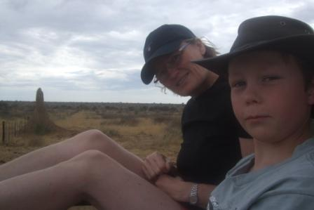 Anita og Jonas på sightseeing